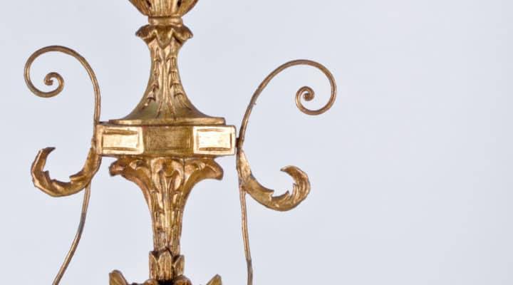 Rifinitura in foglia oro